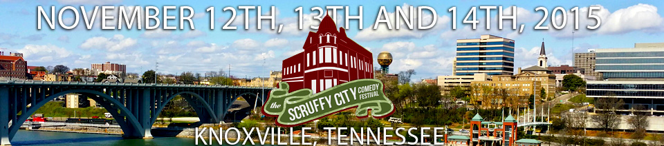 Scruffy City Comedy Festival: Nov 12th-14th, 2015