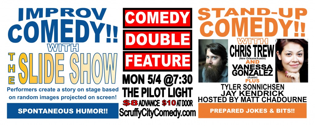 Comedy Double Feature with Chris Trew and Vanessa Gonzalez