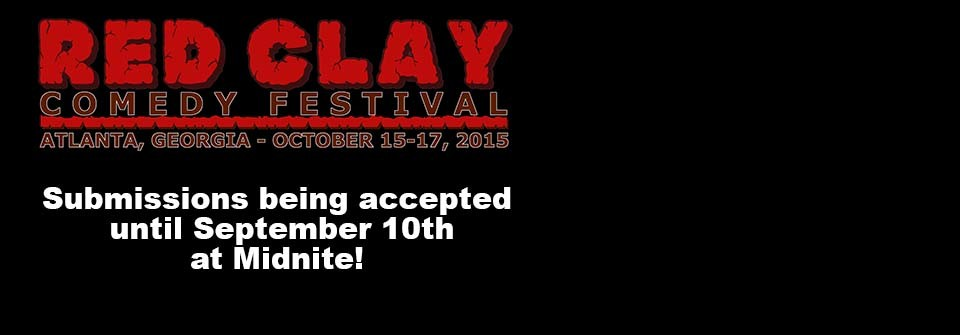 Red Clay Comedy Festival Announced Oct 15-17th in Atlanta!