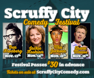 Scruffy City Comedy Festival 2015