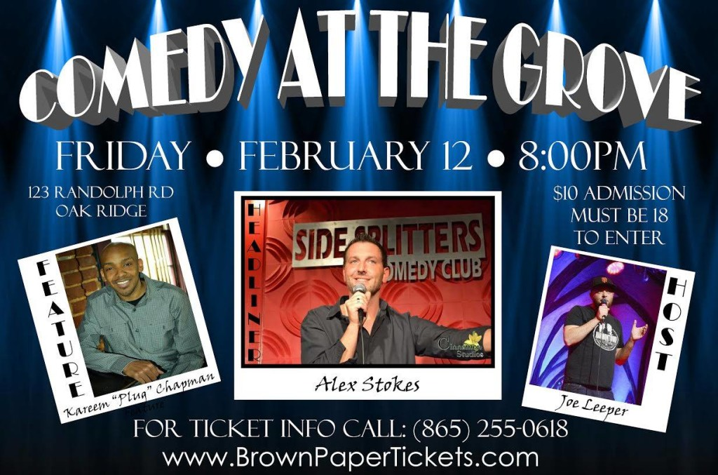 Comedy at the Grove in Oak Ridge