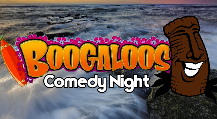 Late Night Luau Comedy at Boogaloos