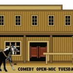 Longbranch open mic comedy every Tuesday at 9 pm