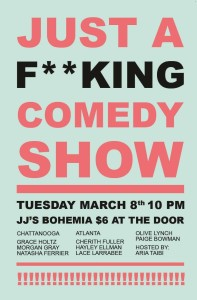 Just a F*cking Comedy Show at JJ's Bohemia