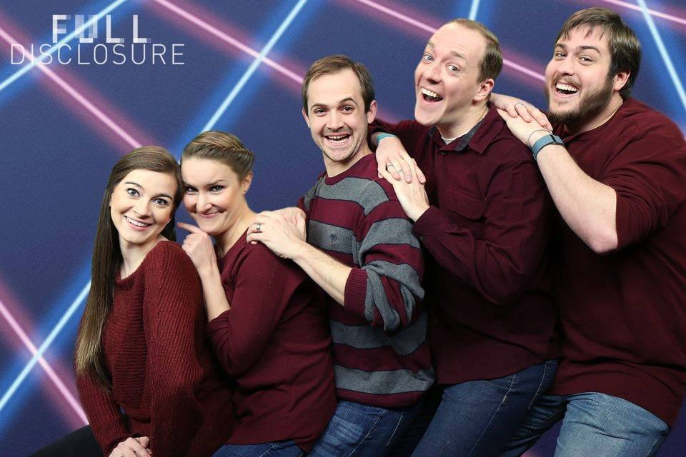 Full Disclosure improv comedy troupe