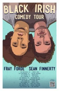 Sean Finnerty tour poster