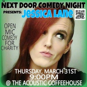 Next Door Comedy presents Jessica Lane