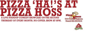 Pizza Ha's at Pizza Hoss, the 2nd Thursday of the month