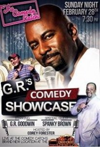 GR Goodwin Comedy Showcase