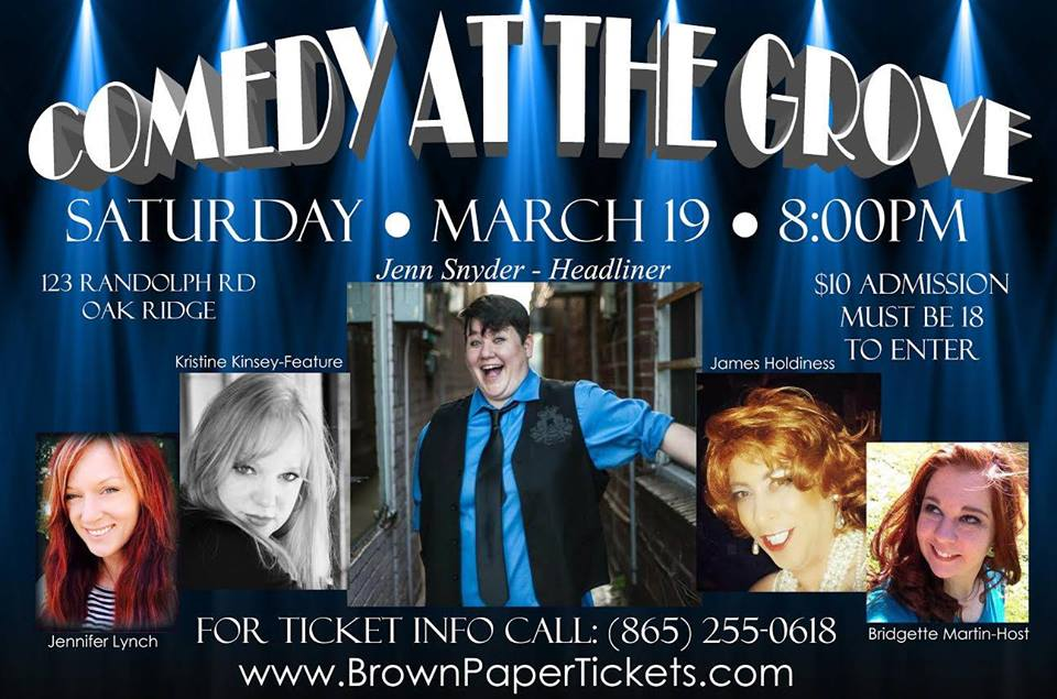 Comedy at the Grove - Future Queens of Comedy