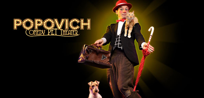 Popovich Comedy Pet Theatre at Greeneville NPAC