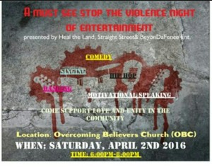 Stop the Violence Event
