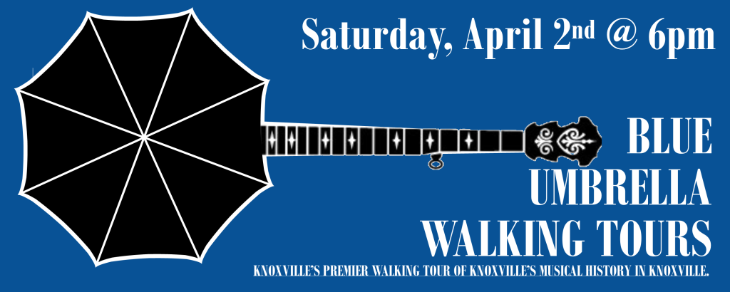 Blue Umbrella Walking Tour - Music Tour - April 2, 2016