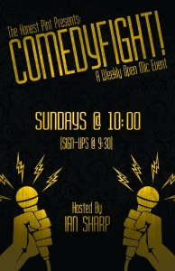 ComedyFight at the Honest Pint