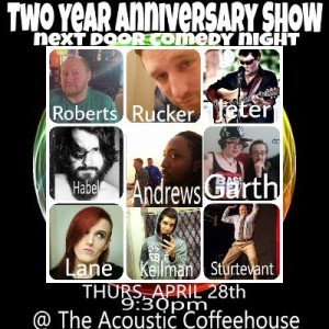 Next Door Comedy 2nd Anniversary Show