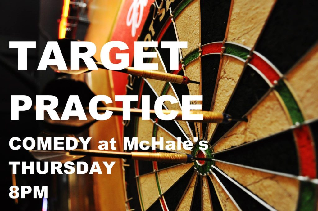 Target Practice open mic at McHale's