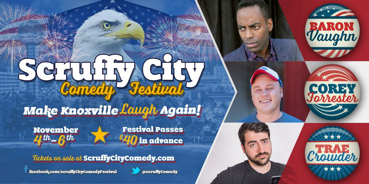 Scruffy City Comedy Festival: Nov 4th-6th, 2016